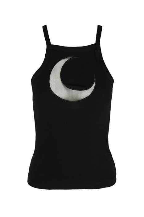 Top Mesh Moon Black