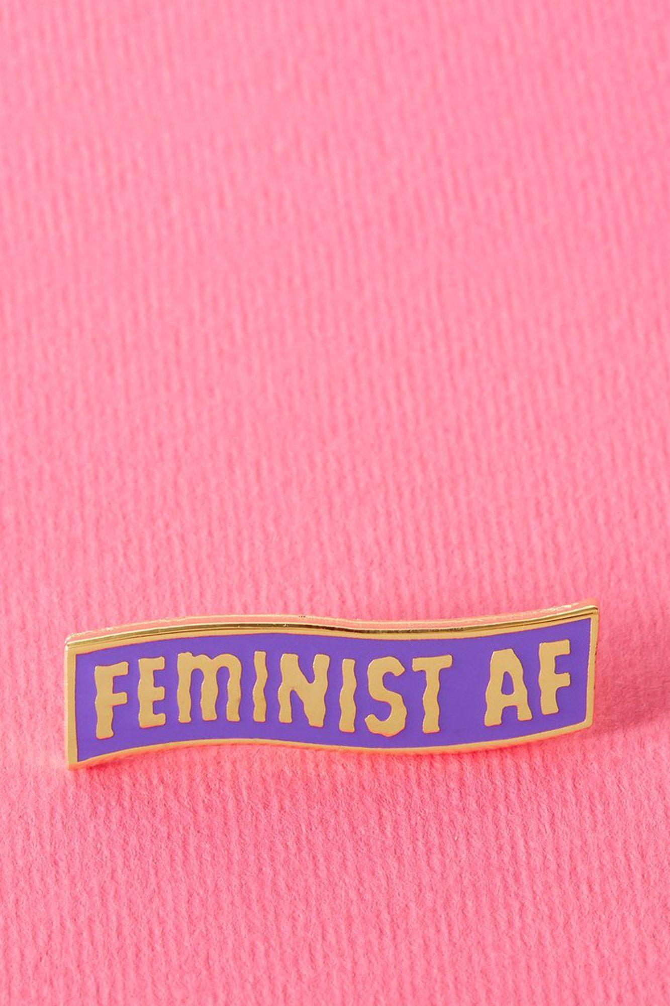 Feminist AF Enamel Pin