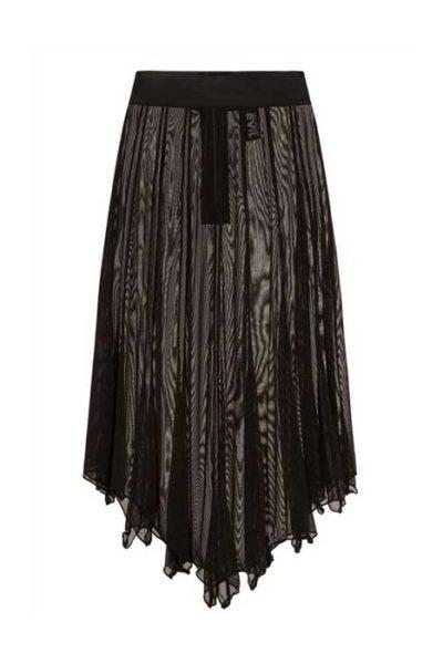 Medeina Bat Wing Skirt Black