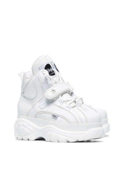 Buffalo 1348 Platform Sneaker White framsida