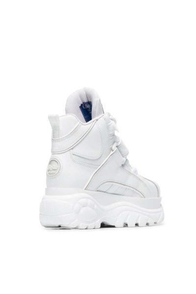 Buffalo 1348 Platform Sneaker White baksida