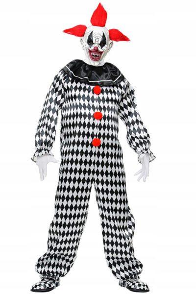 Circus Clown Black-white