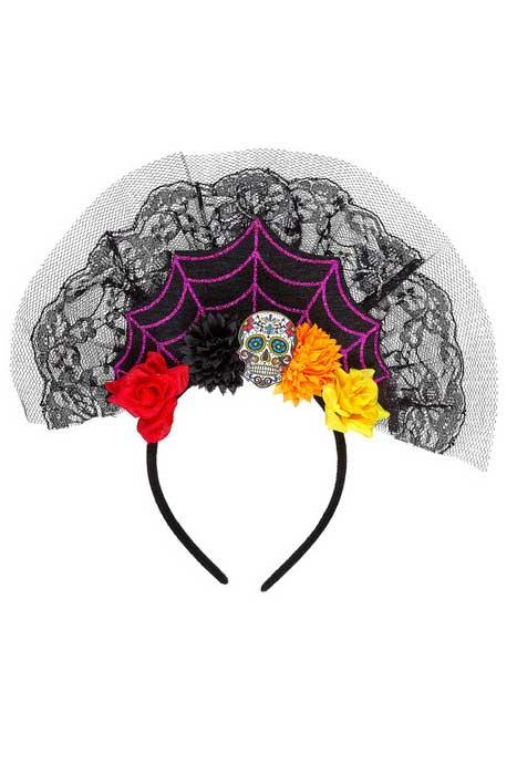 Dia De Los Muertos Headpiece