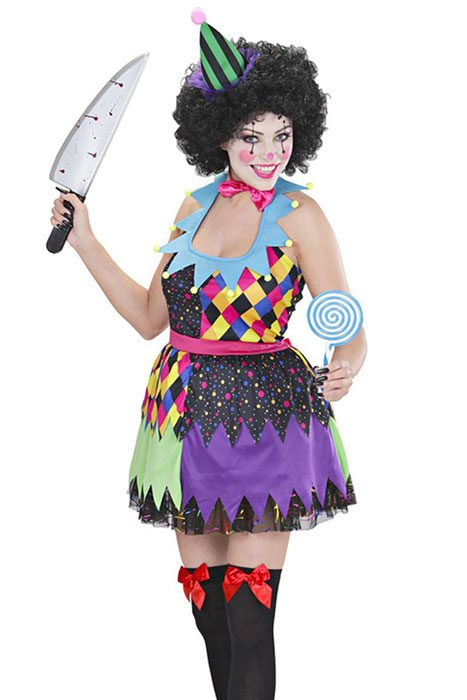 Evil Clown Dress