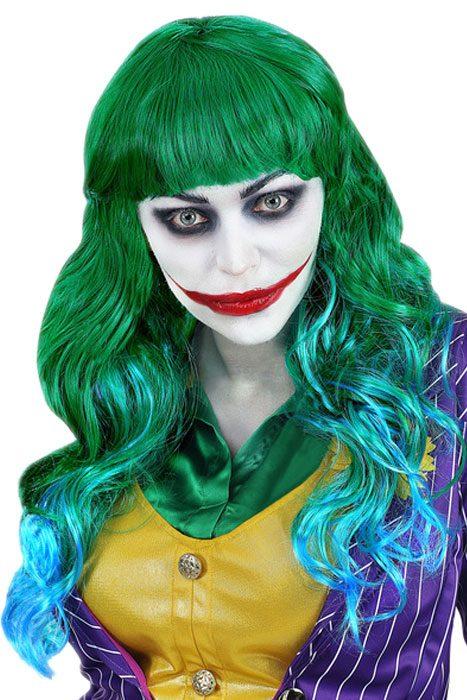 Evil Joker Wig