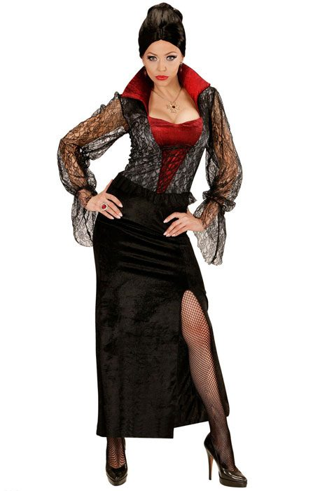 Vampiress Dress Black