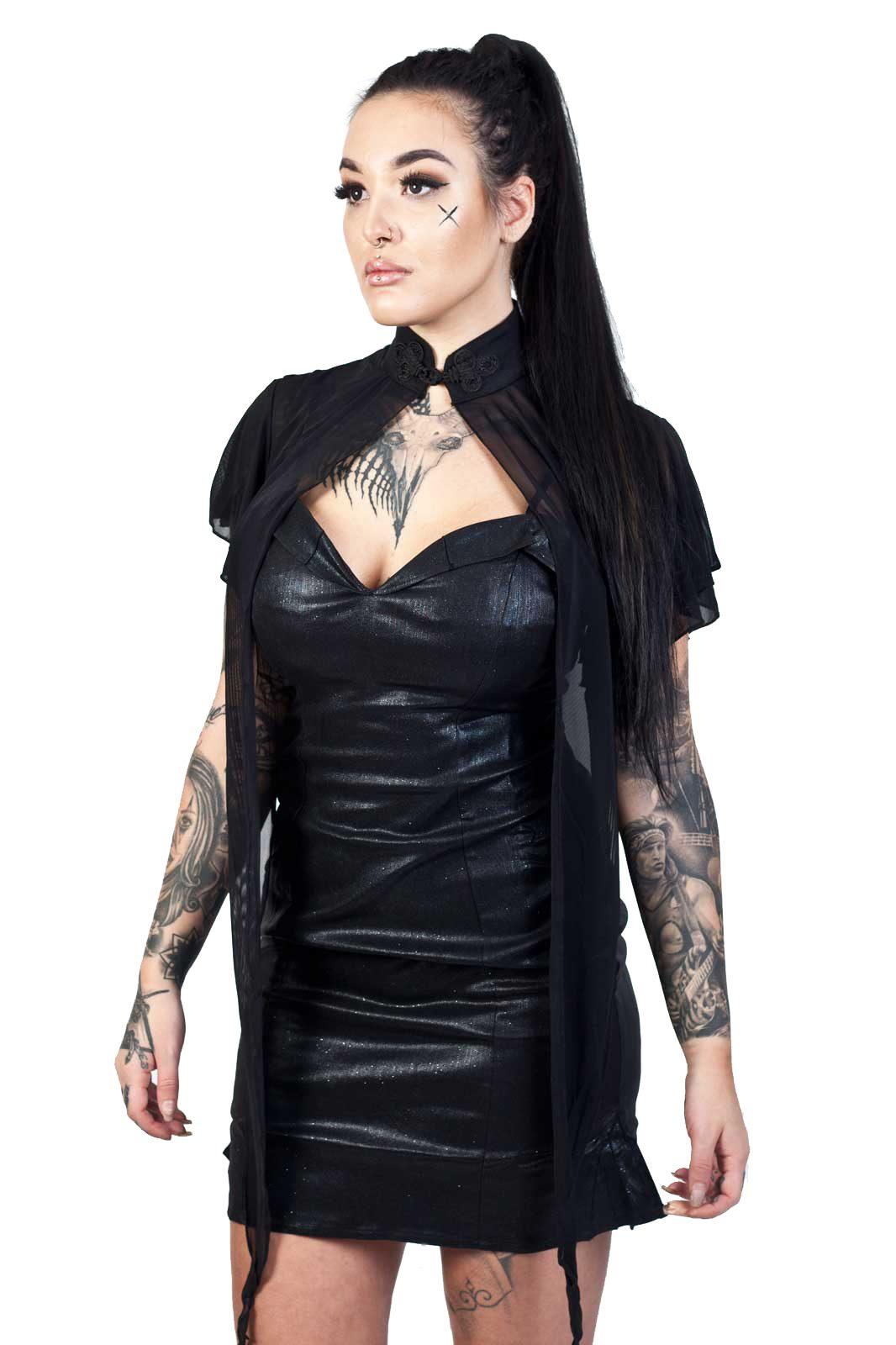 Zira Mesh Bolero Black