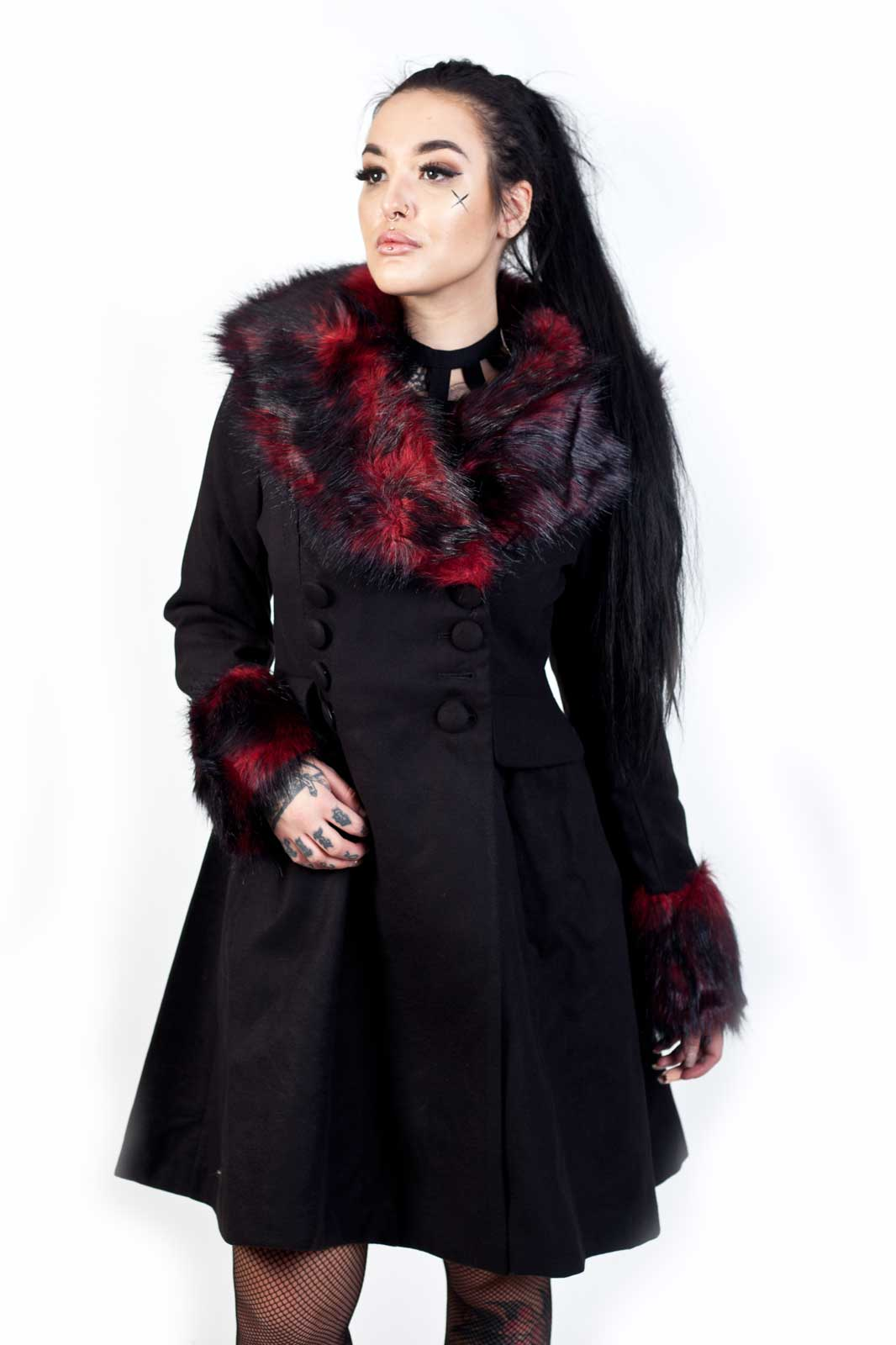 Rock Noir Coat Black