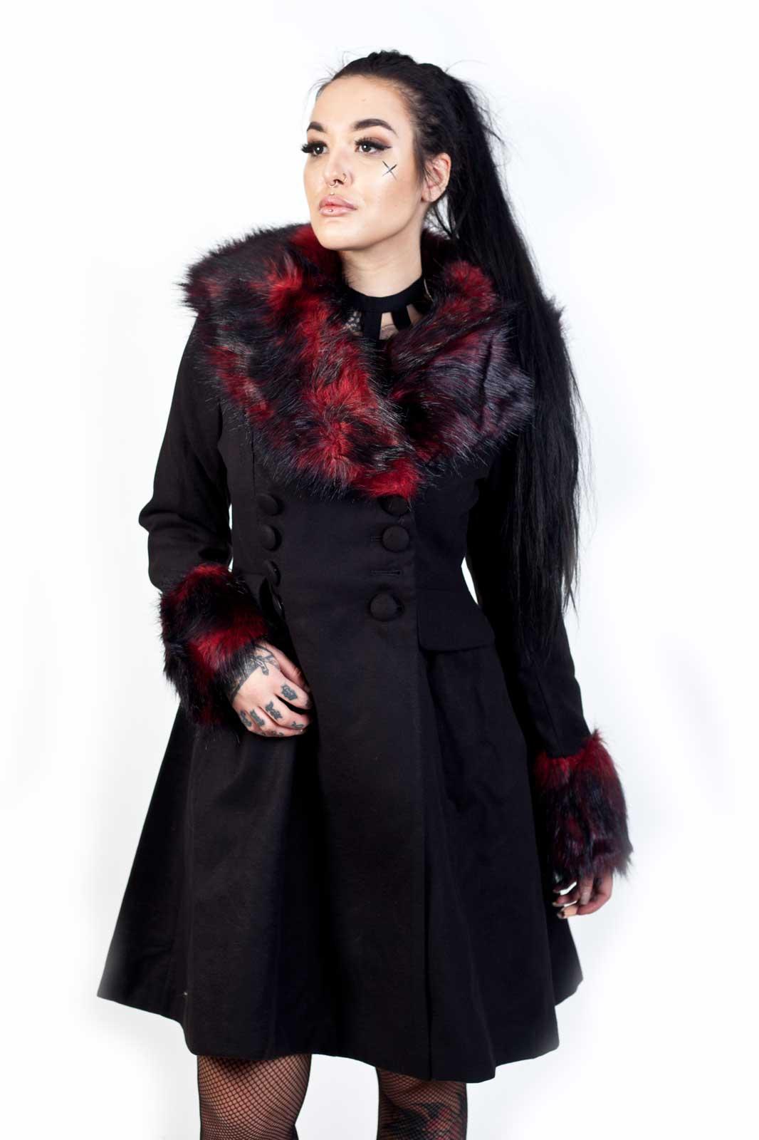 Rock Noir Coat Black