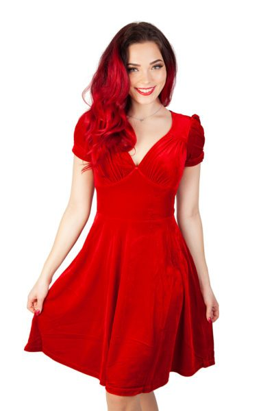 Joanne Dress Red