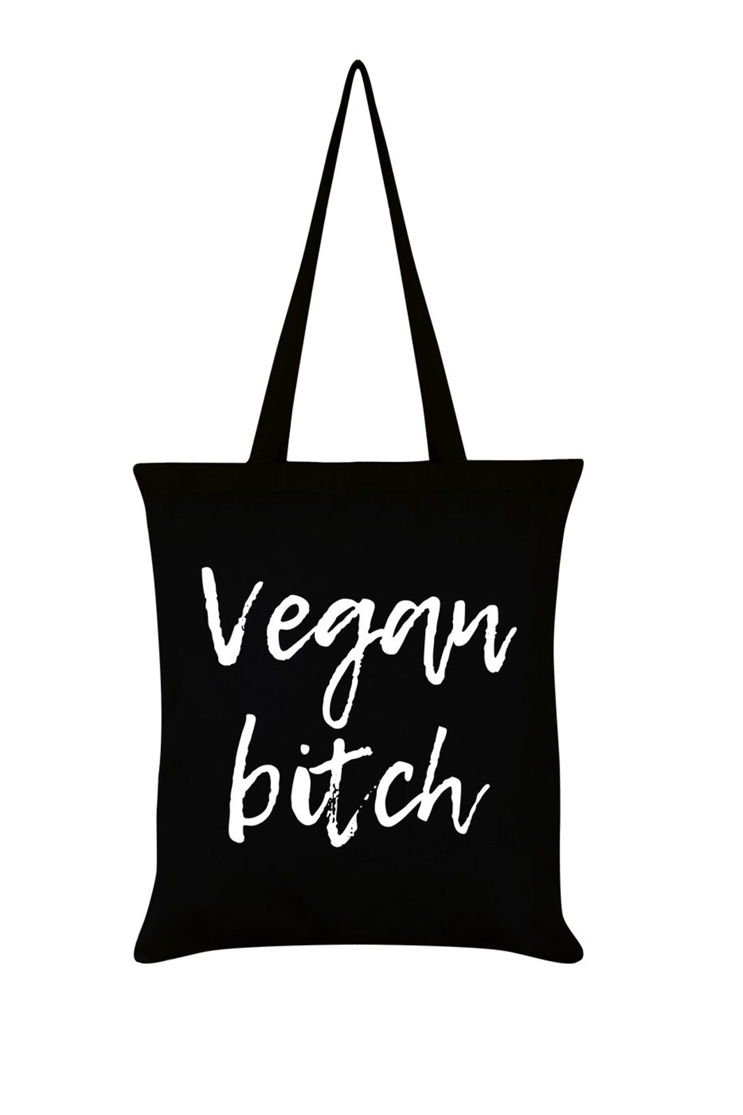 Vegan Bitch Black Tote Bag