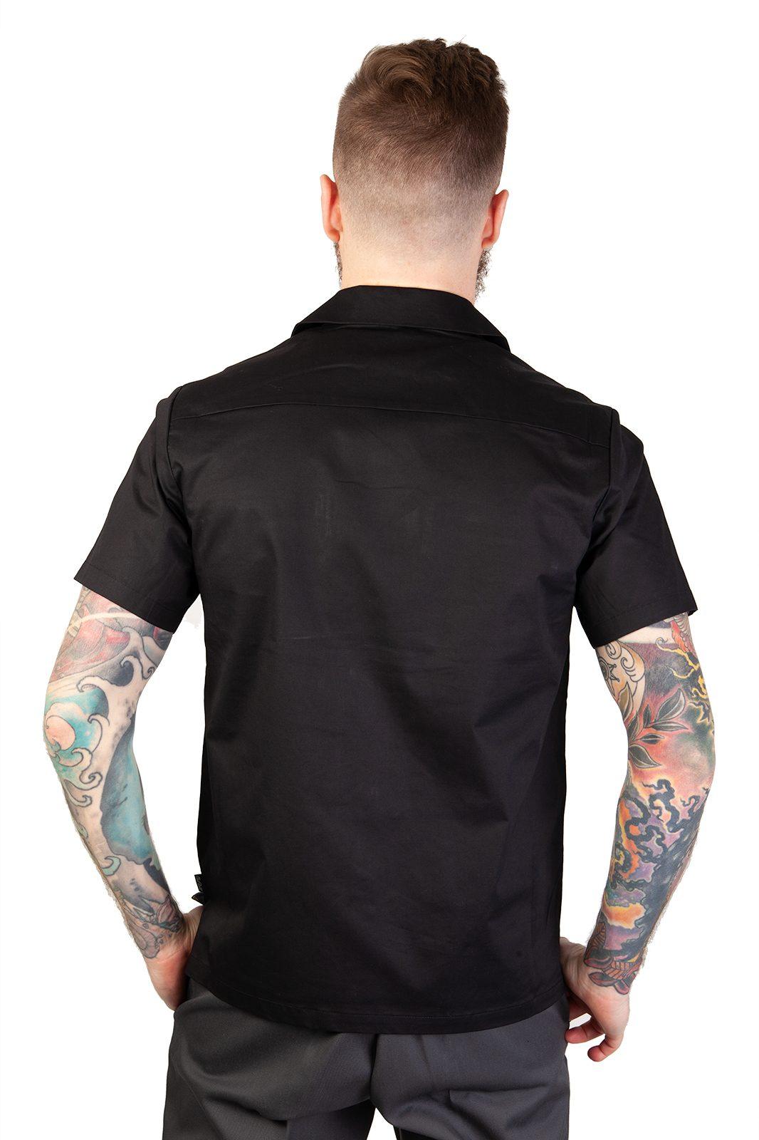 Donnie Bowling Shirt Black