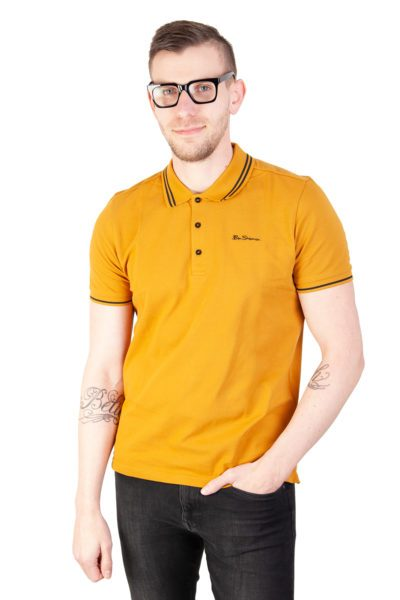 Classic Pique Polo Gold Yellow