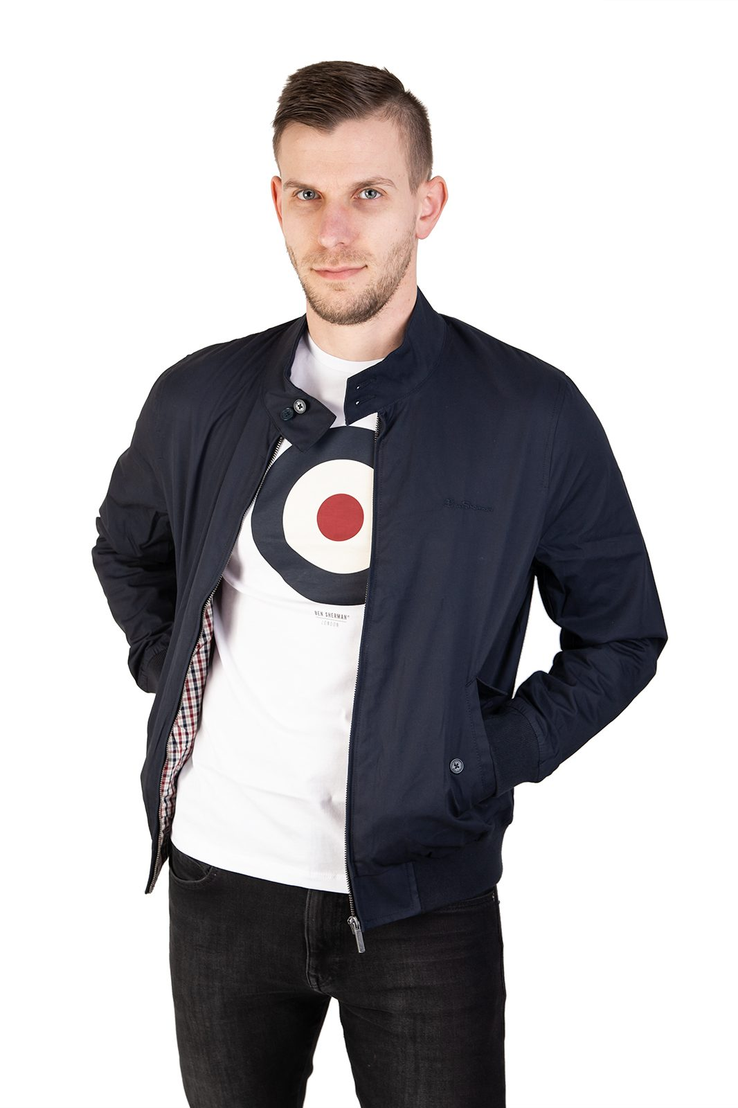 Script Harrington Dark Navy Blue