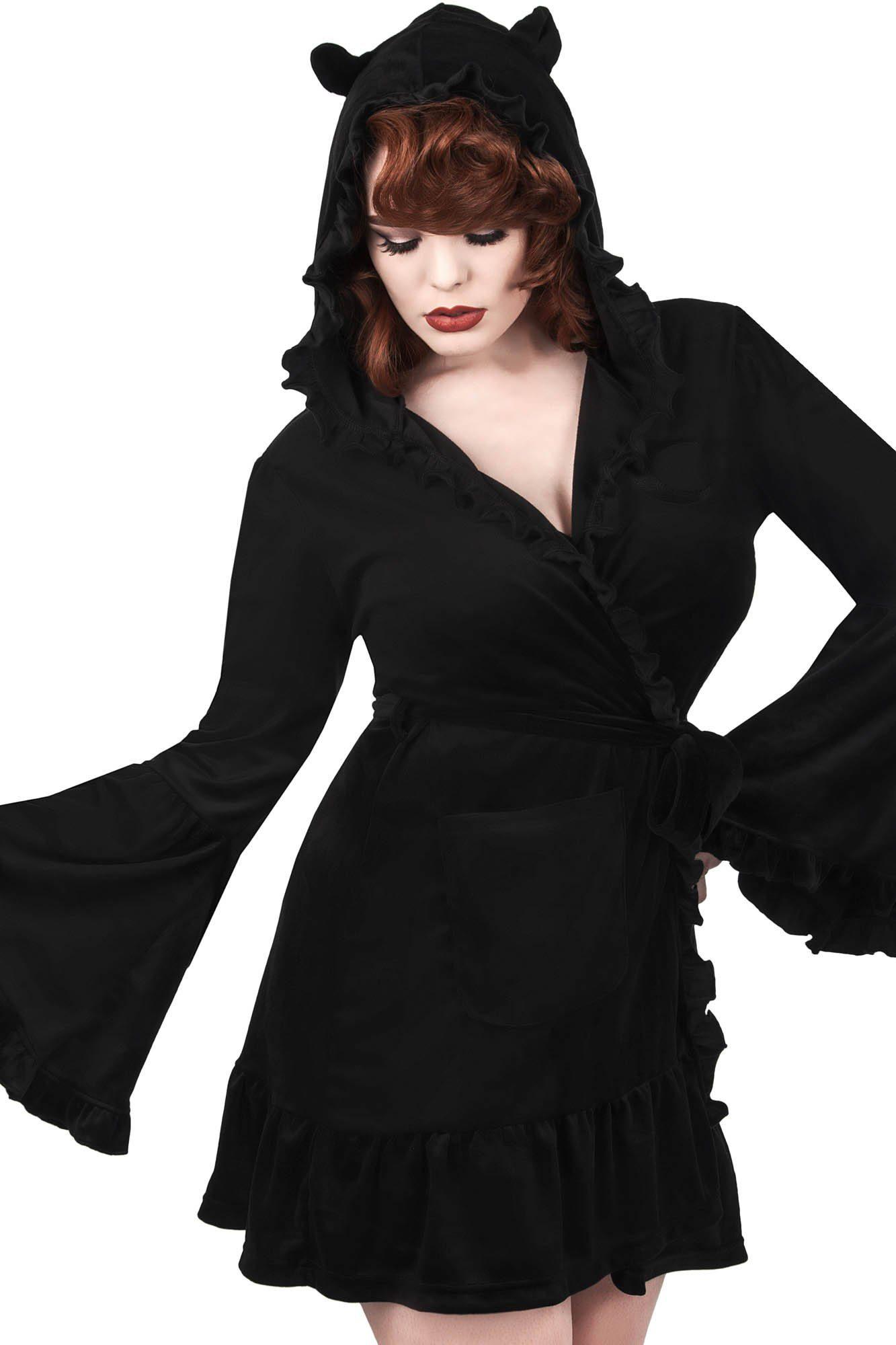 Night Marry Robe Black