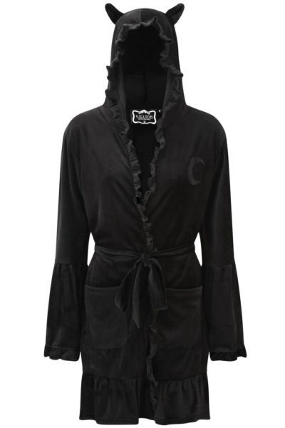 Night Marry Robe Black