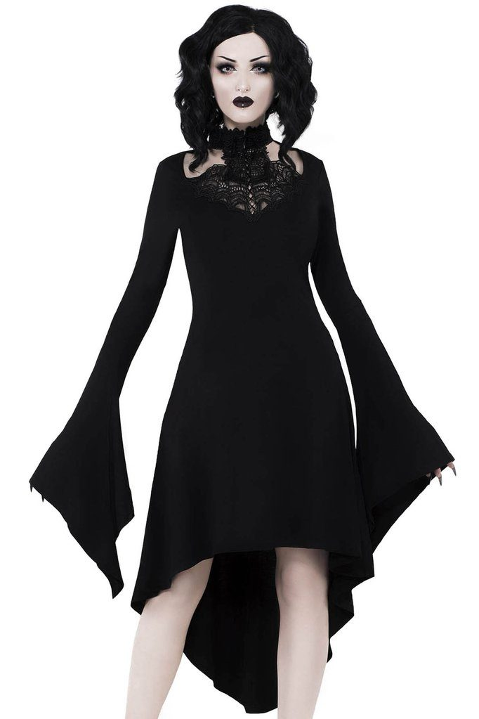 Shadow Sprite Dress Black