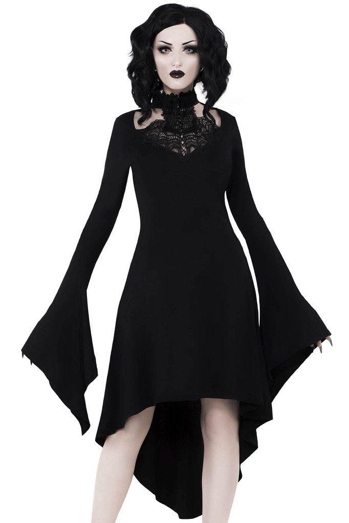 Shadow Sprite Dress Black