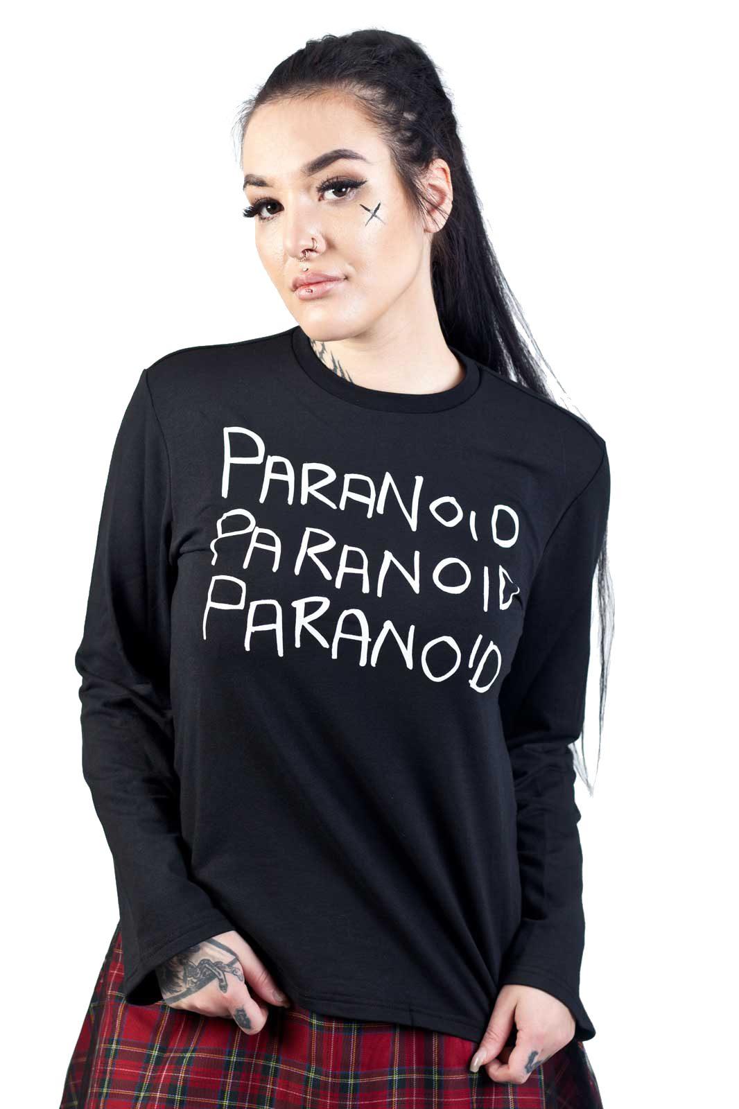 Paranoid Top Black