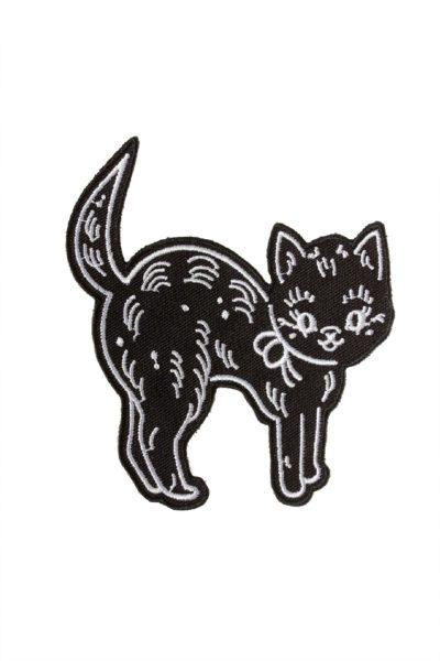 Creep Heart Cat Patch