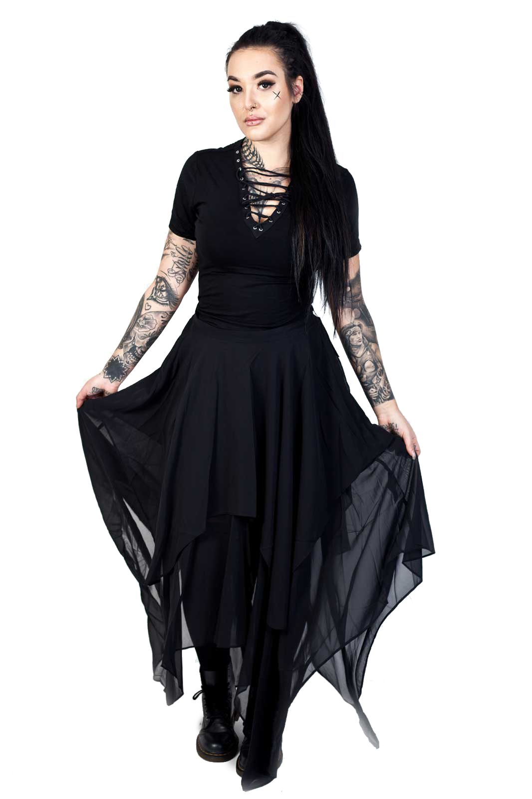 Omen Skirt Black