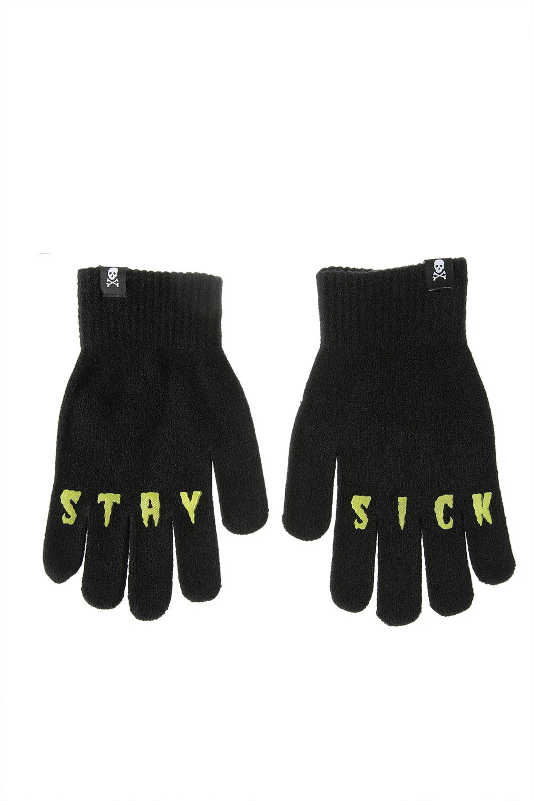 Stay Sick Knit Gloves