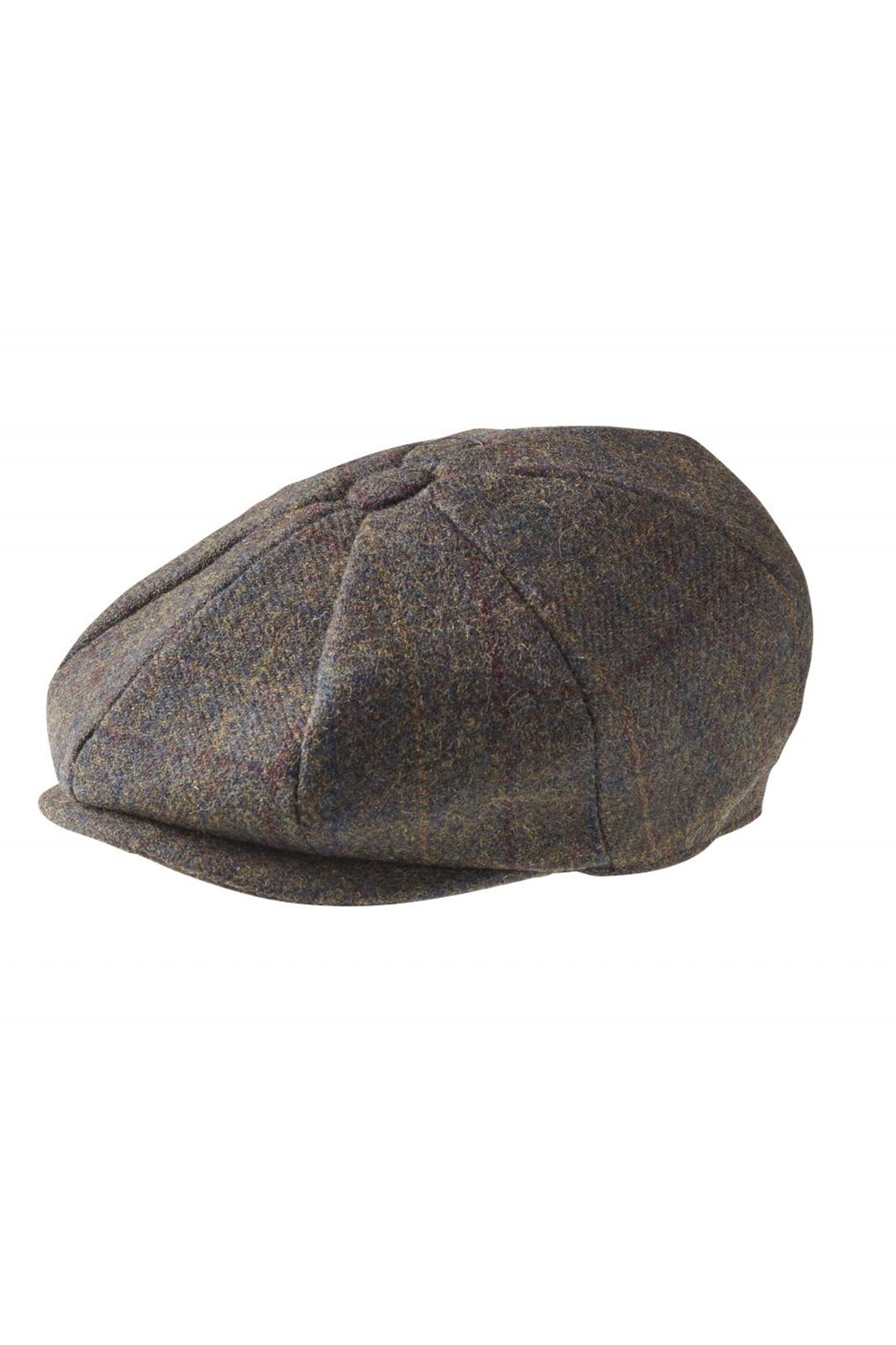 Newsboy Cap Mountain Tweed Brown