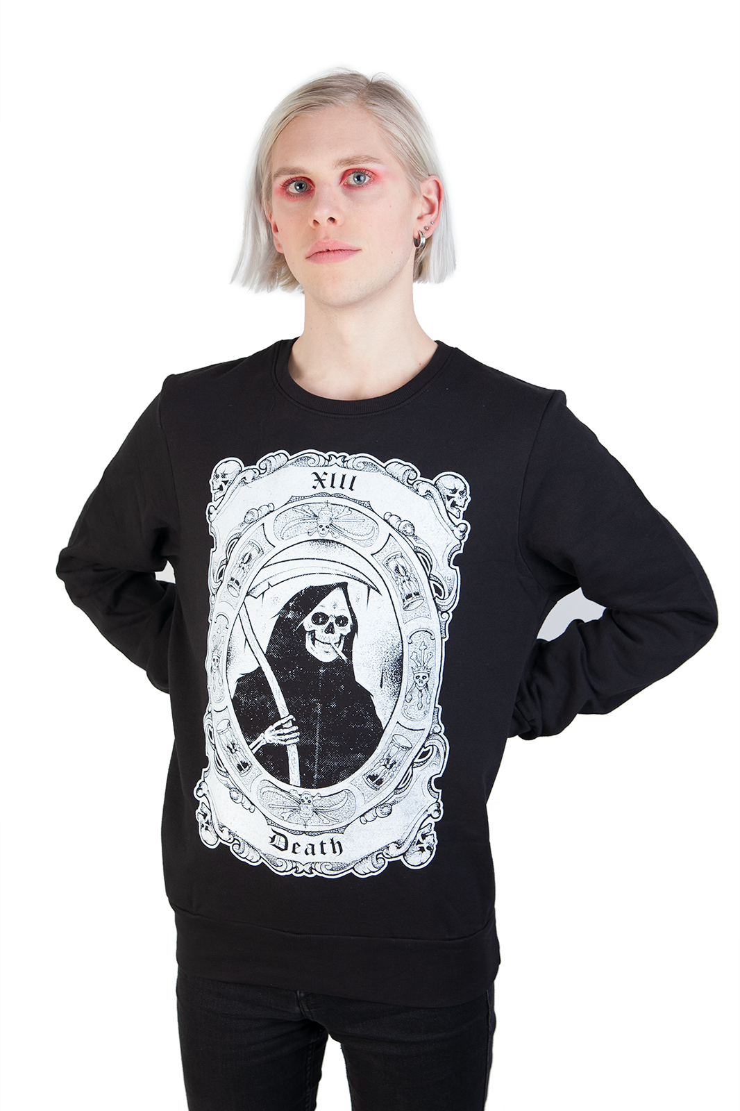 Smoking Reaper Sweatshirt Black