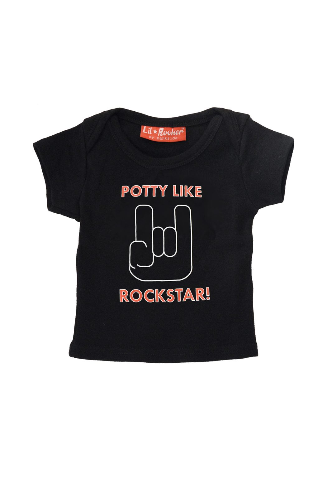Kids Tee Potty Black