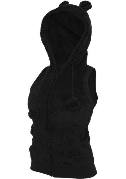 Teddy Vest Black