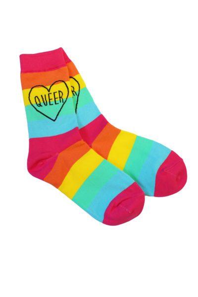 Queer Rainbow Socks