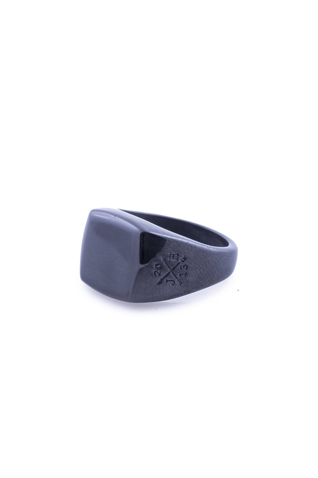 Ring Kenta Black Stainless Steel
