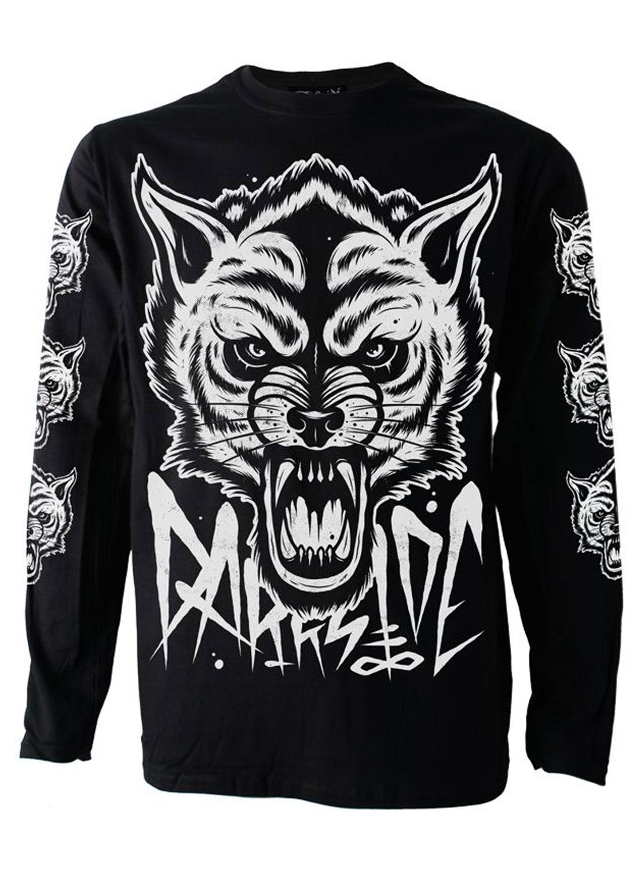 Darkside Wolf Longsleeve T-shirt
