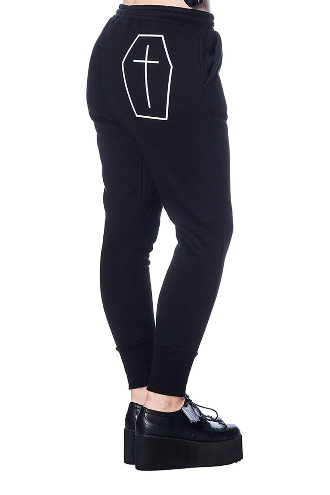 Coffin Sweatpants Black