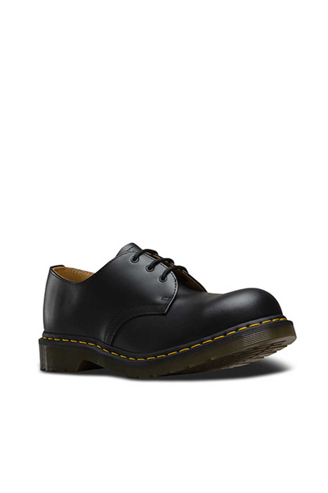 1925 3 eye steeltoe shoe Black