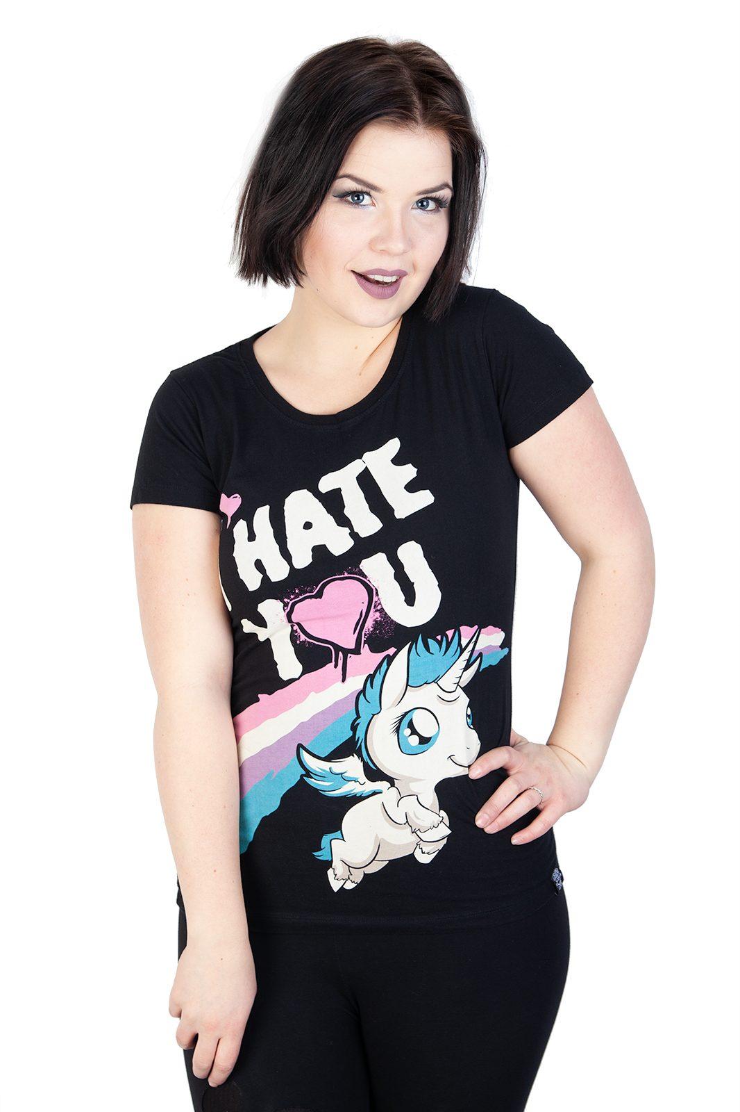 Tee Hate You Black