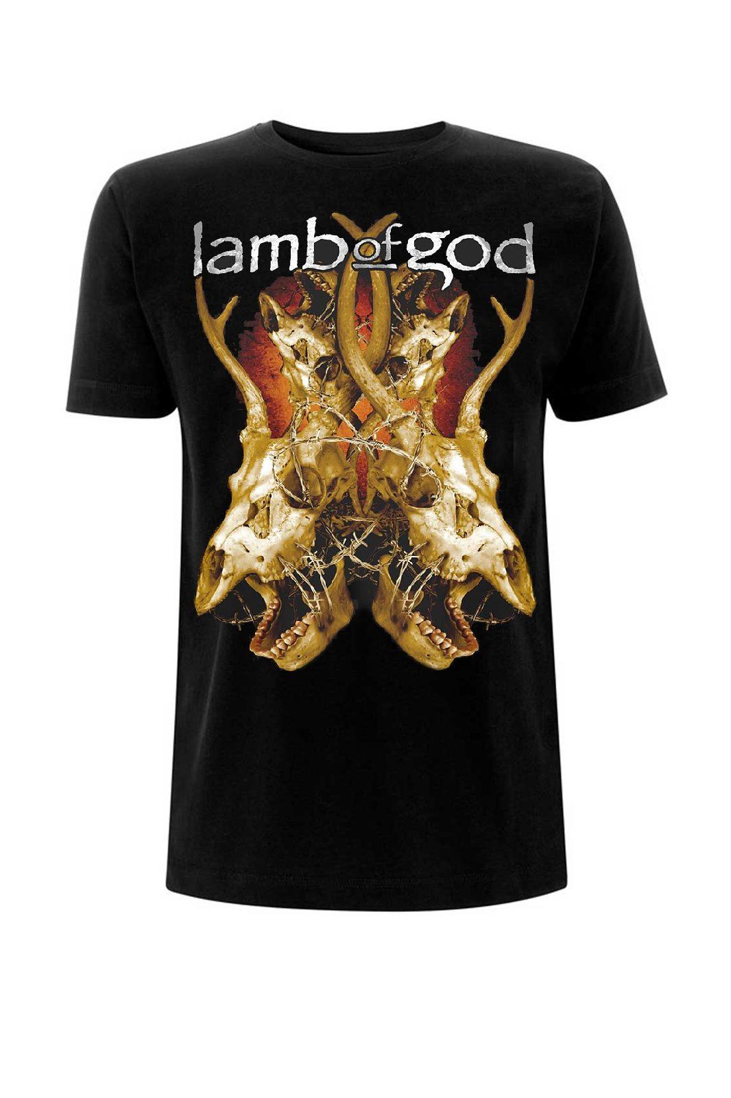 Tee Lamb Of God Tangled Bones Black