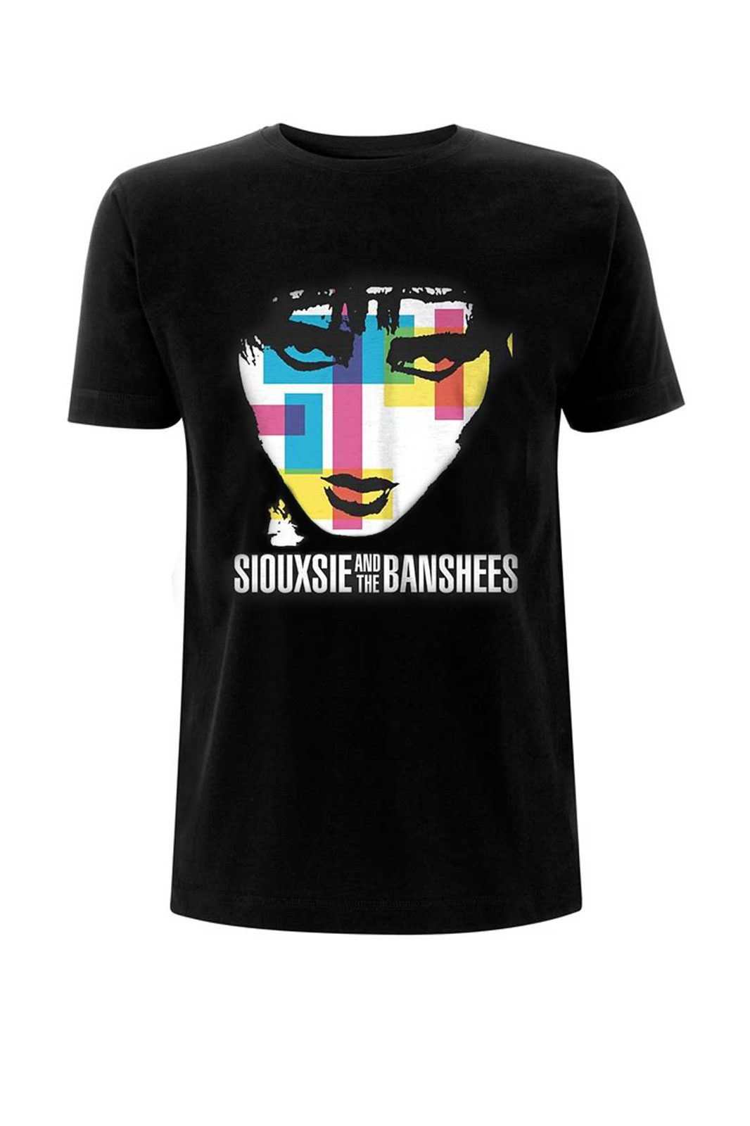 Tee Siouxsie &The Banshees Colour Block Blac