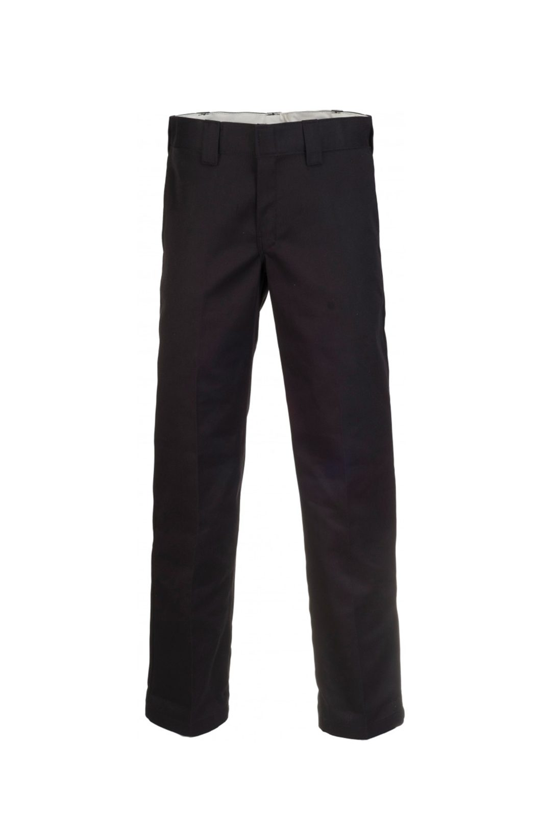 Slim straight Work Pant Black