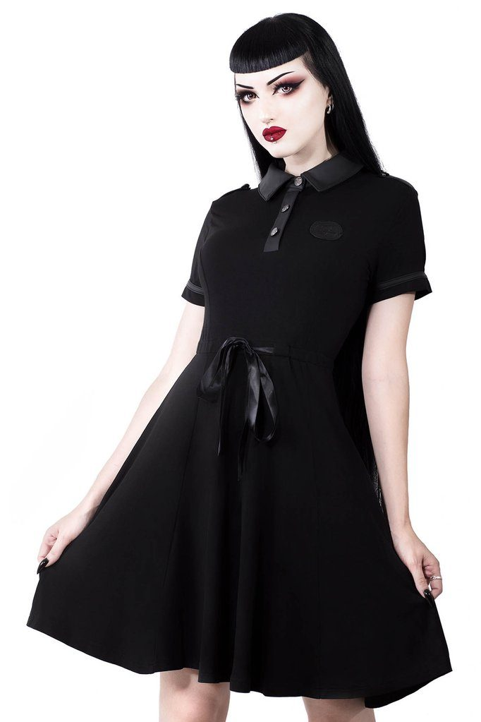 Dark Doll Dress Black
