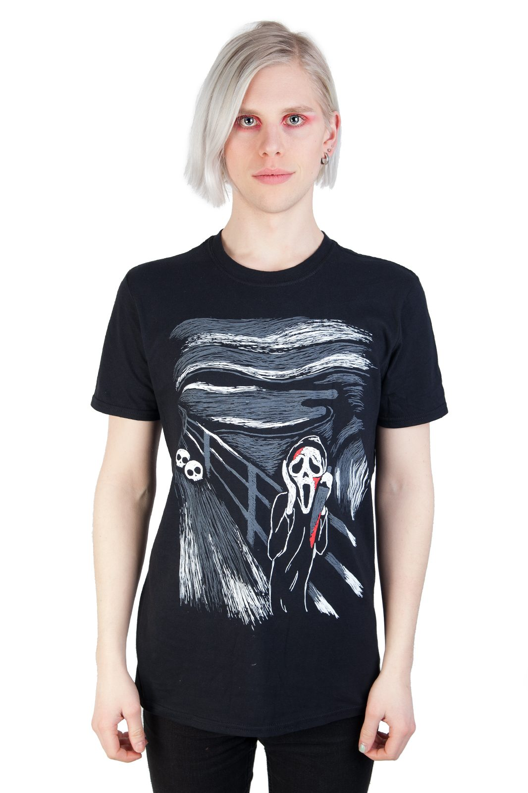 Tee Scream Black