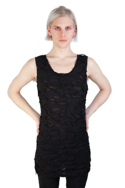 Shred Vest Black