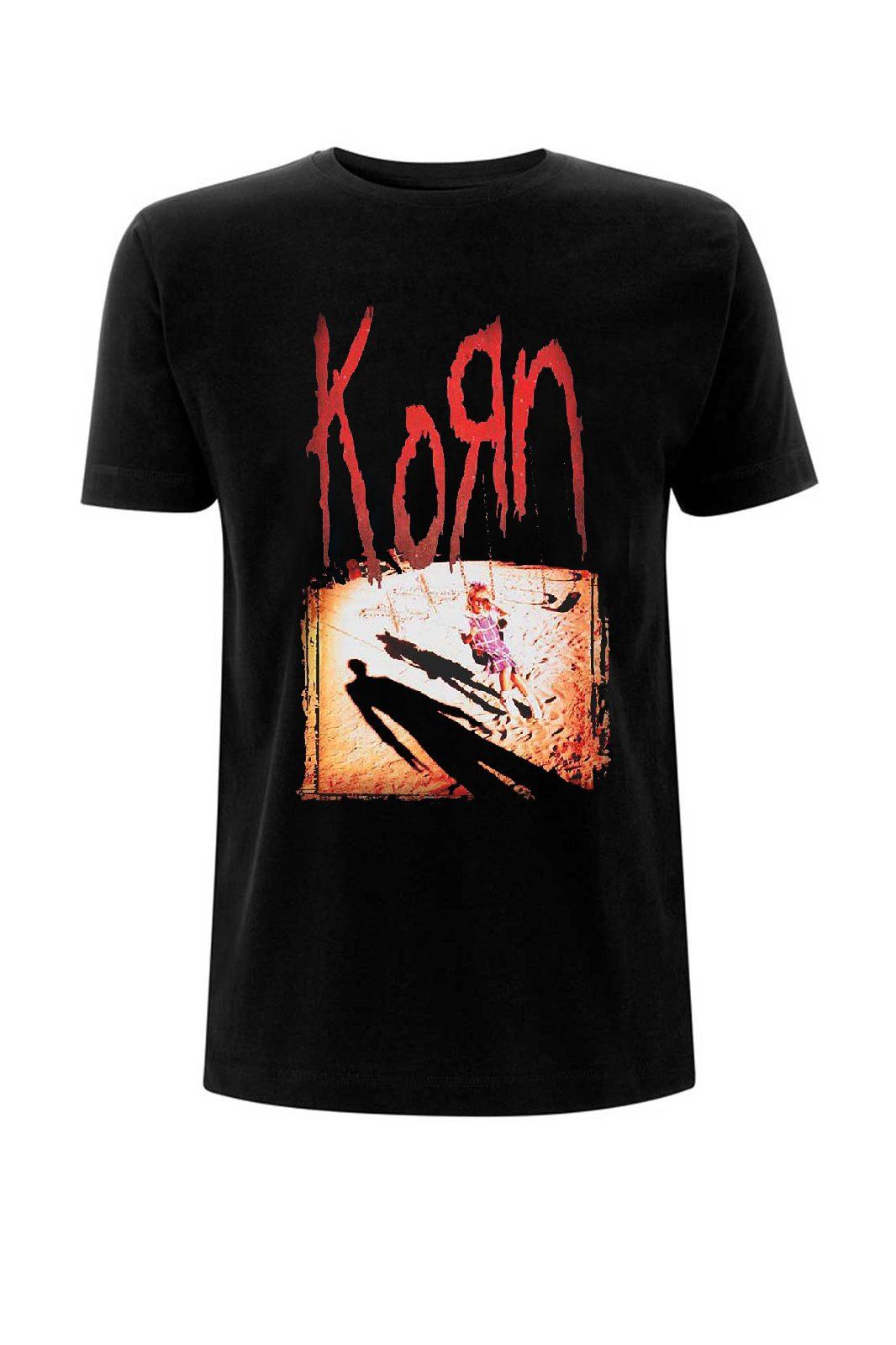 Tee Korn Korn Black