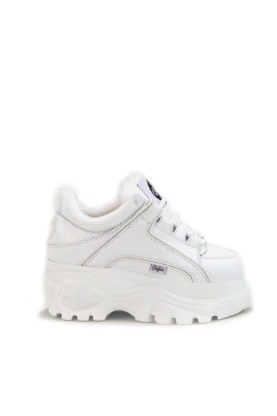 Buffalo 1339 Platform Sneaker White