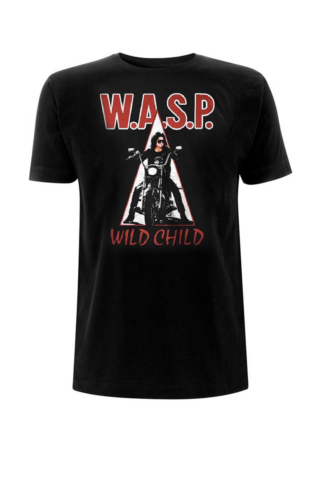 Tee Wasp Wild Child Black
