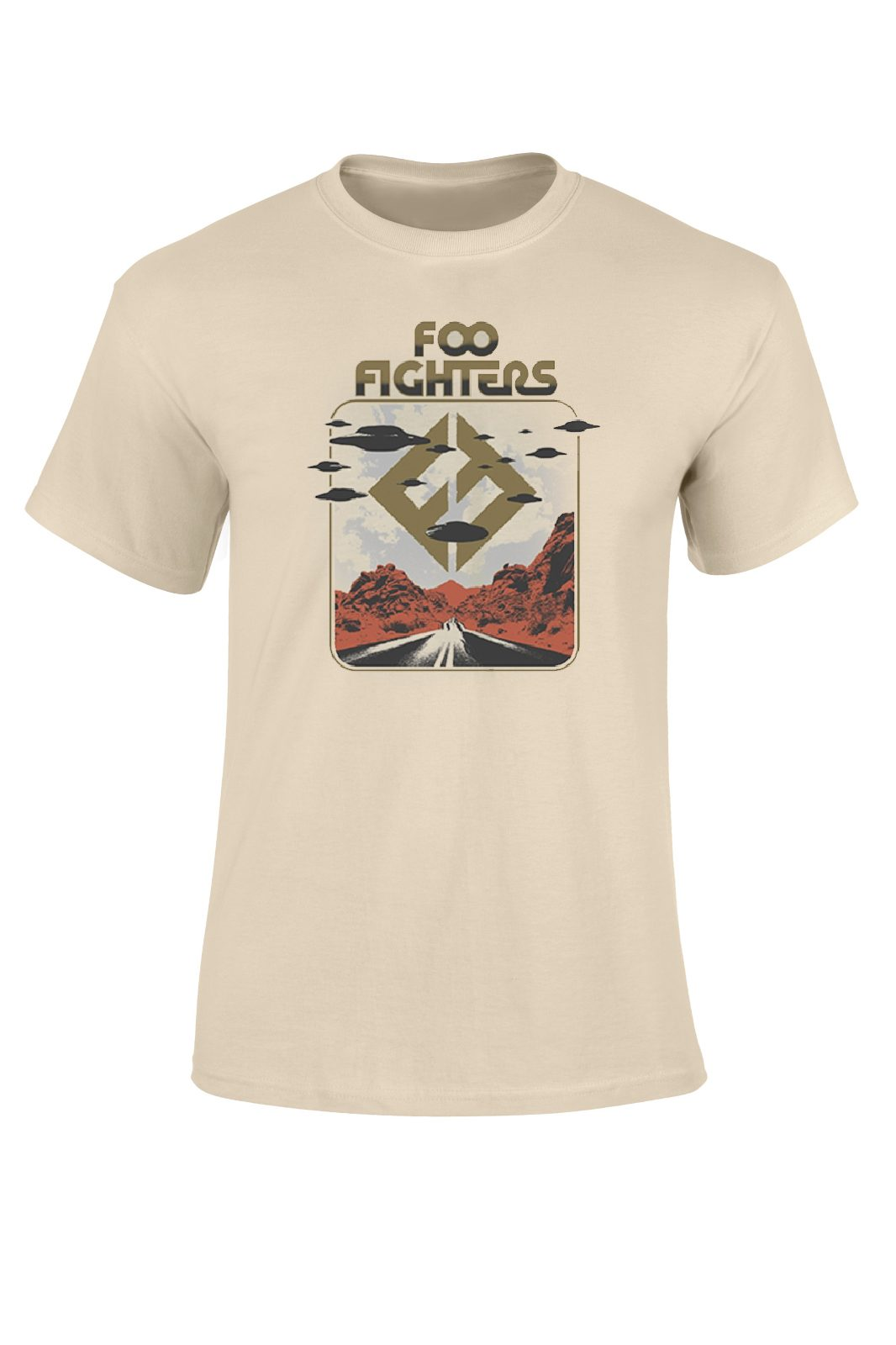 Tee Foo Fighters Roswell