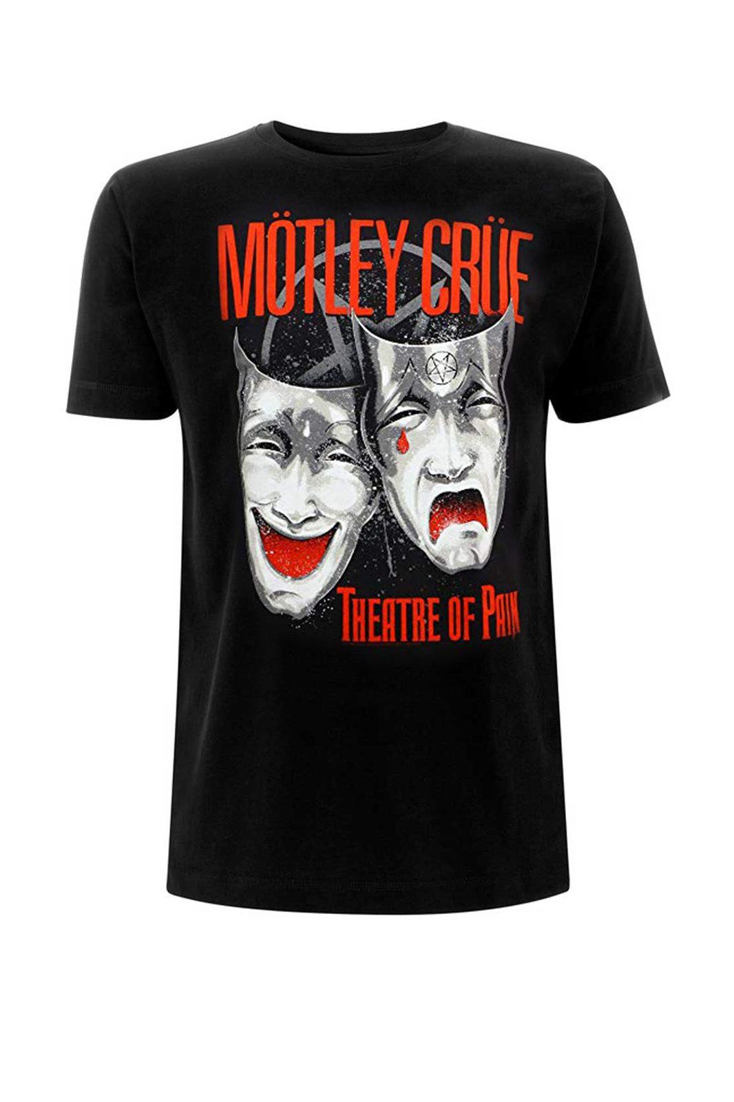 Tee Mötley Crüe Black