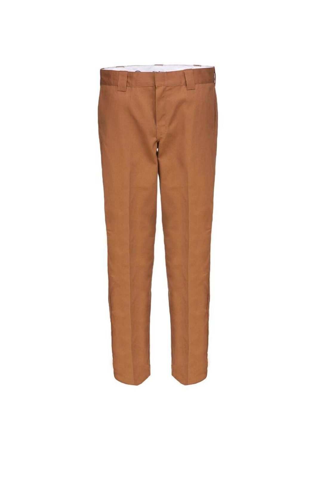 Slim straight Work Pant Duck Brown
