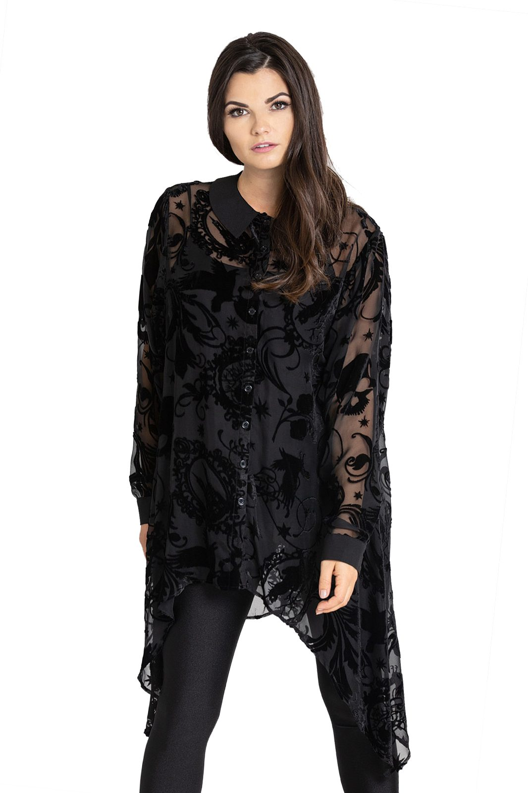 Amoret Blouse Black