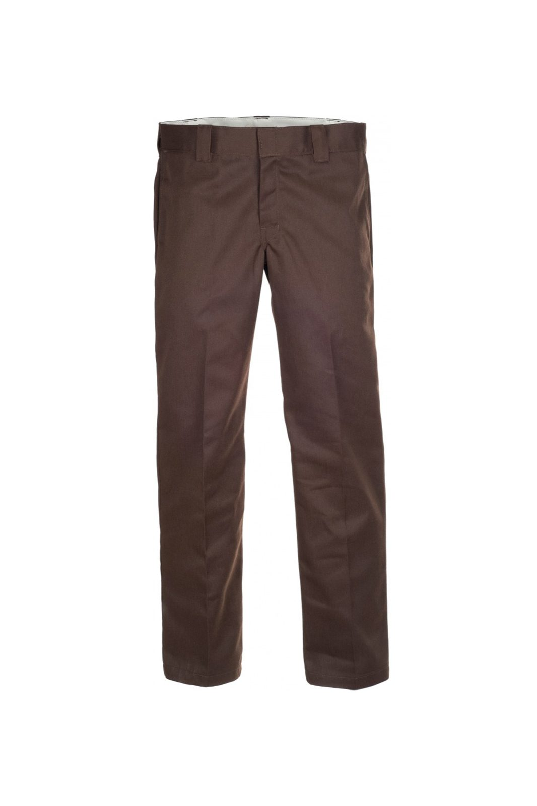 Slim straight Work Pant Brown